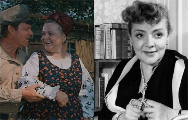 Советская киноактриса исполнила множество главных ролей, ею восхищались, ее любили, фильмы с ее участием пользовались успехом у зрителей.