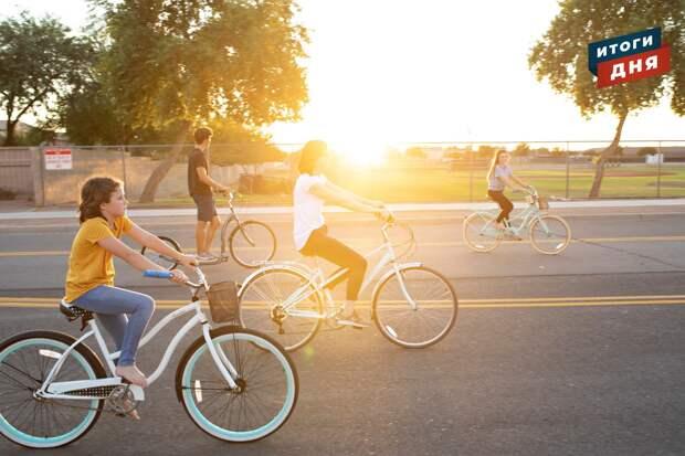 Итоги дня: беспечность велосипедистов Ижевска и отмена массовых мероприятий в Удмуртии