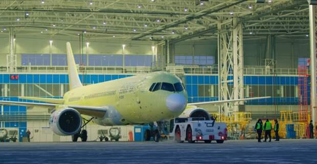 Самолет МС-21 с российскими двигателями совершил первый полет