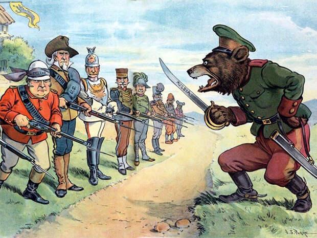 Почему Запад веками пытается захватить Россию