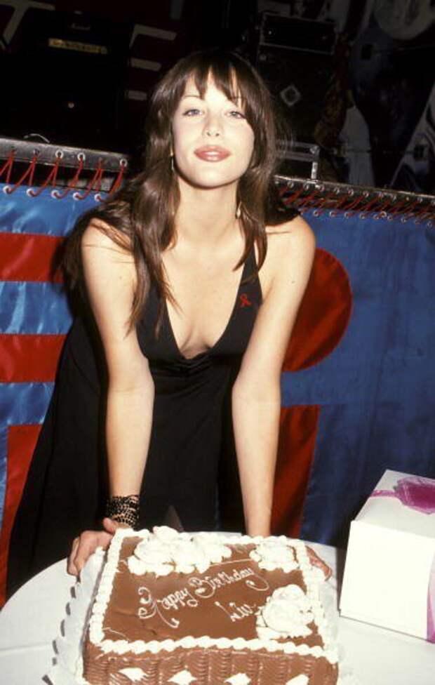 Лив Тайлер в день своего 16-летия, 30 июня 1993 года.
