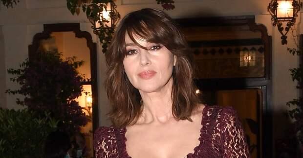 Моника Беллуччи посетила кинофестиваль в Италии