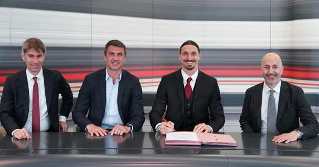 Златан продлил контракт с «Миланом» на год. Шведу будет 40 лет в октябре