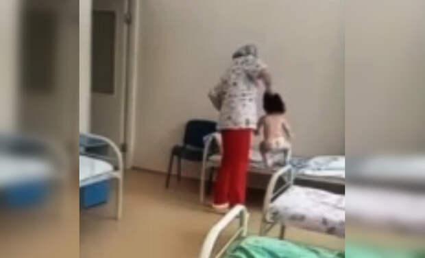 Таскавшую за волосы ребенка медсестру из Новосибирска уволили