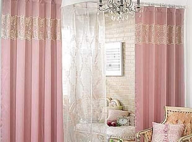 модные тенденции в дизайне межкомнатных штор