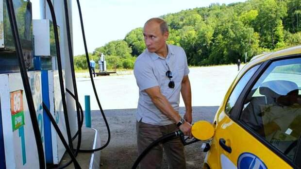 Путин снова удивился росту цен на бензин в России? Смотрим как менялись цены на топливо в нашей стране