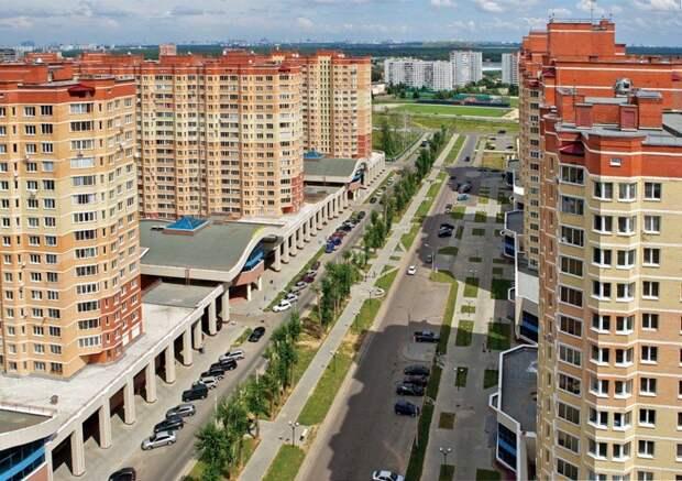 7. Видное, Московская область жилая застройка, каменные джунгли, квартиры, фото, человеческий муравейник