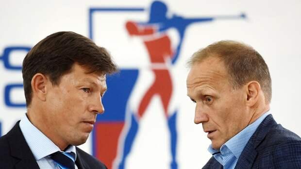 Майгуров объяснил причину иска Союза биатлонистов России к Драчеву