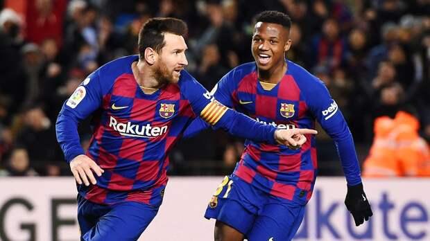 Волшебный гол Месси, 82 процента владения, труднейшая победа. Первый матч Сетьена в«Барселоне»