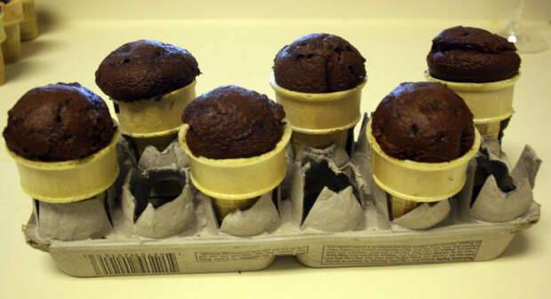 Кексы в новом амплуа: удачная и простая идея сладкой выпечки