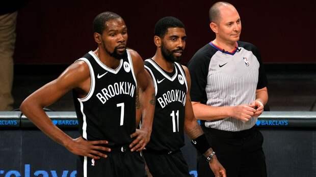 «Бруклин» с Дюрантом и Ирвингом разгромил «Бостон» в предсезонном матче