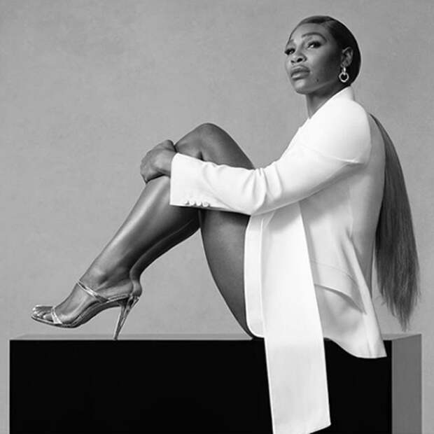 К твоим ногам: Серена Уильямс снялась в сексуальной рекламной кампании