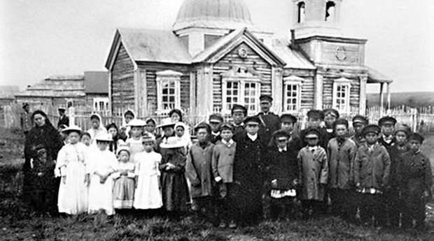 Гижигинск. Горожане в начале XX века