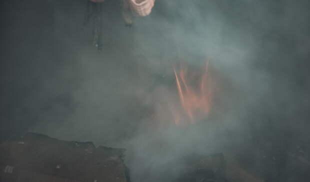 ВТобольском районе потушили пожар, который угрожал жителям деревни Суклём