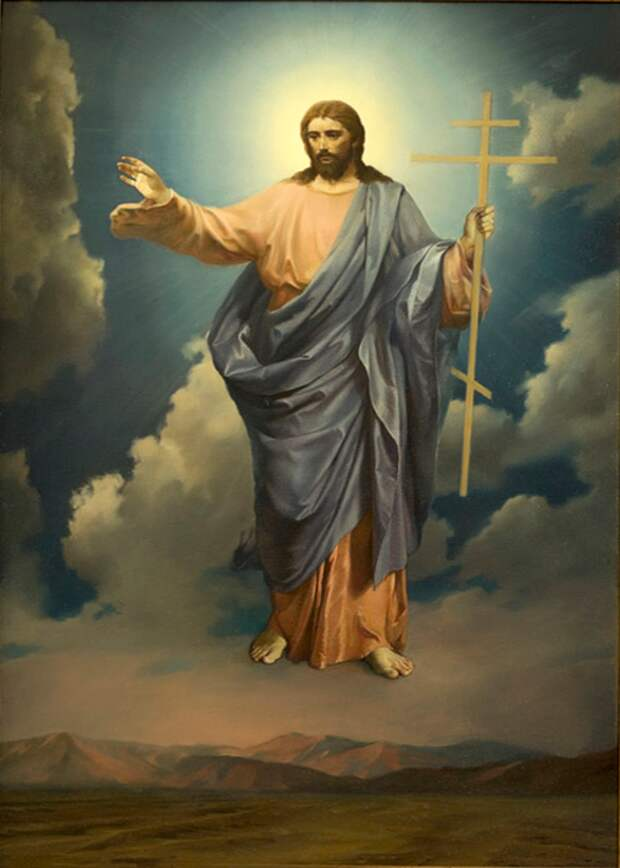 О явлении Господа верным и моменте вечности. Зыбина Елена