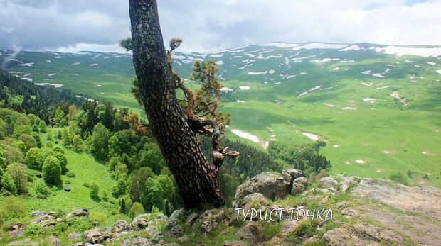 Вид на плато Лагонаки