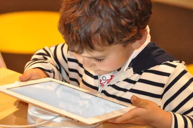 Ребенок, Таблетка, Технология, Компьютер