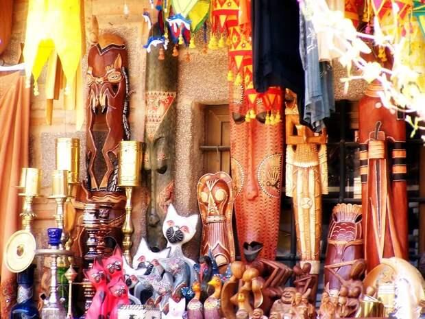 маски африканские