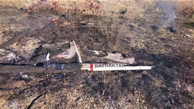 Украинские СМИ: армии ЛДНР умеют сбивать турецкие беспилотники Bayraktar