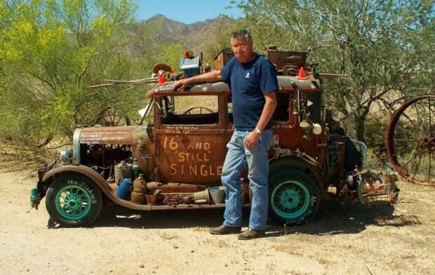 Ford Model A авто, игрушка, копия, миниавтомобиль, моделизм, модель, самоделка, своими руками