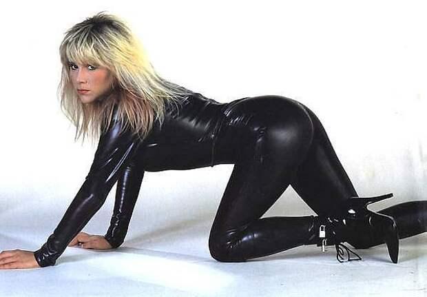 Королева диско Саманта Фокс.