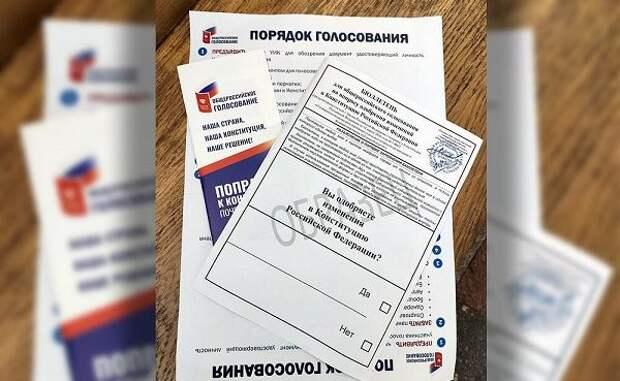 В институте Пушкина не нашли ошибок в бюллетенях по поправкам в Конституцию