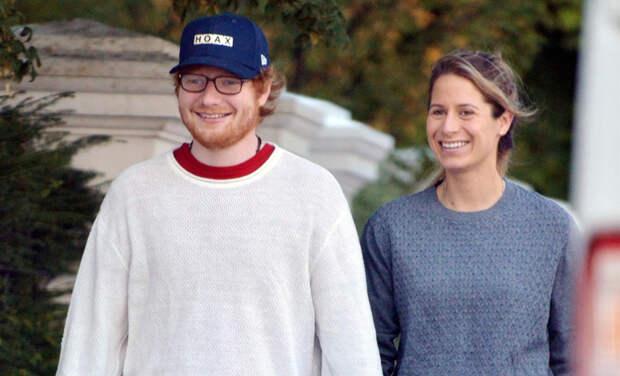 Эд Ширан и его жена Черри Сибборн впервые станут родителями