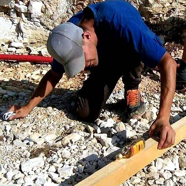 Когда ты профессионал своего дела, специальное оборудование тебе не нужно! | Фото: Gramha.