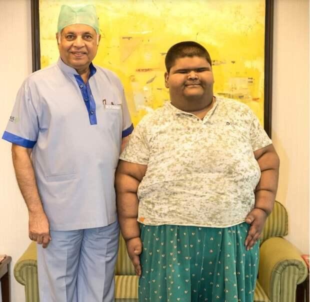 Подросток из Индии решился на сложную операцию, лишь бы похудеть