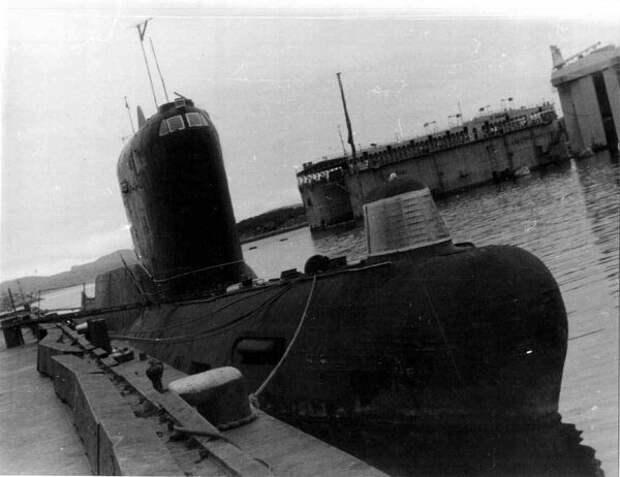 Советская подводная лодка К-19