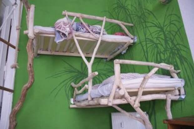 САМОДЕЛКИ. Оригинальная детская двухъярусная кровать