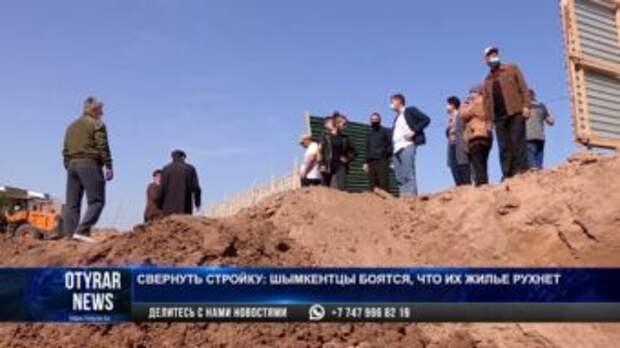 Жители мкр Север встали живой стеной против строительства дома