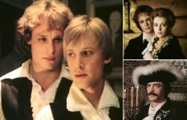 Кадры из фильма *Гардемарины, вперед!*, 1987 | Фото: good-cinema.ru и kino-teatr.ru