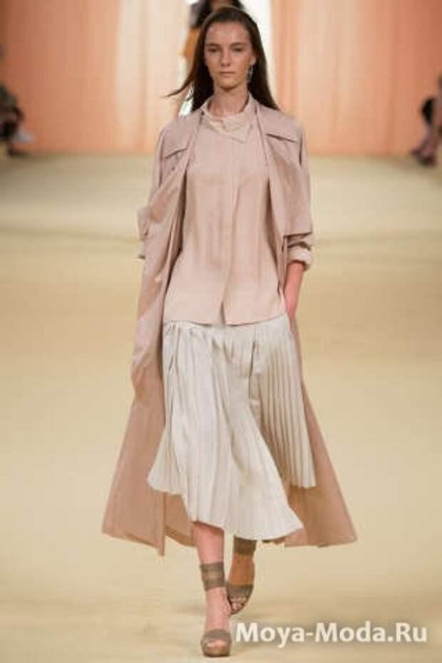 Модные юбки весна-лето 2015 Hermèse