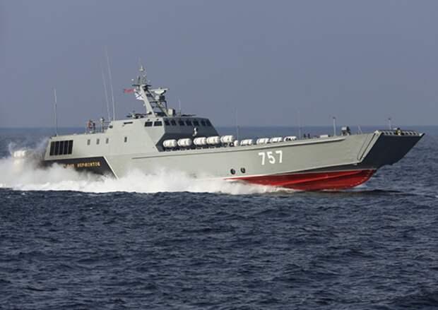 Российский десантный катер