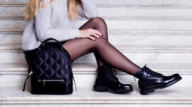 С чем носить ботинки на шнуровке и как их правильно вписывать в образы