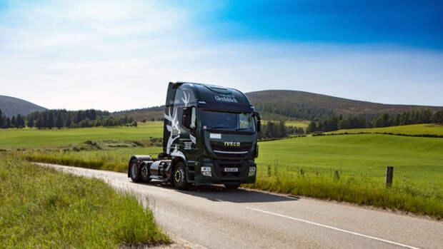 Производитель виски переводит свои грузовики на биотопливо, полученное из производственных отходов