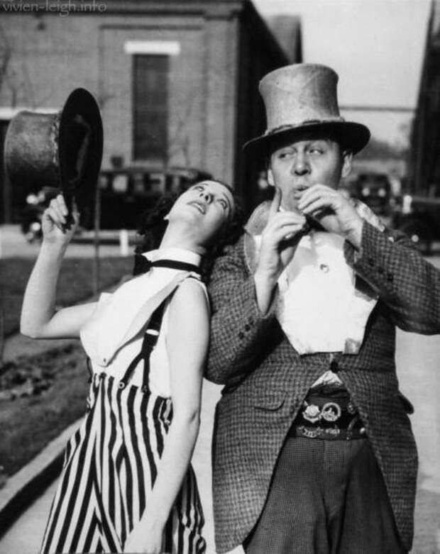 """Вивьен Ли в фильме """"Тротуары Лондона"""", 1938 г."""