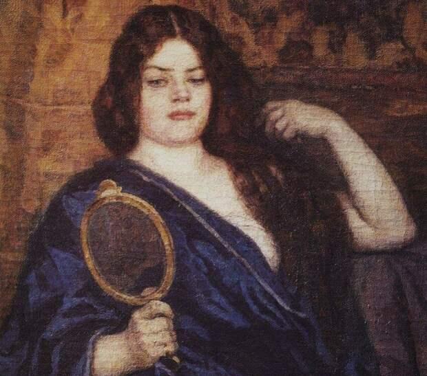 Василий Суриков. Фрагмент картины «Сибирячка», 1909