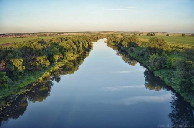 Река Ока, Рязанская область