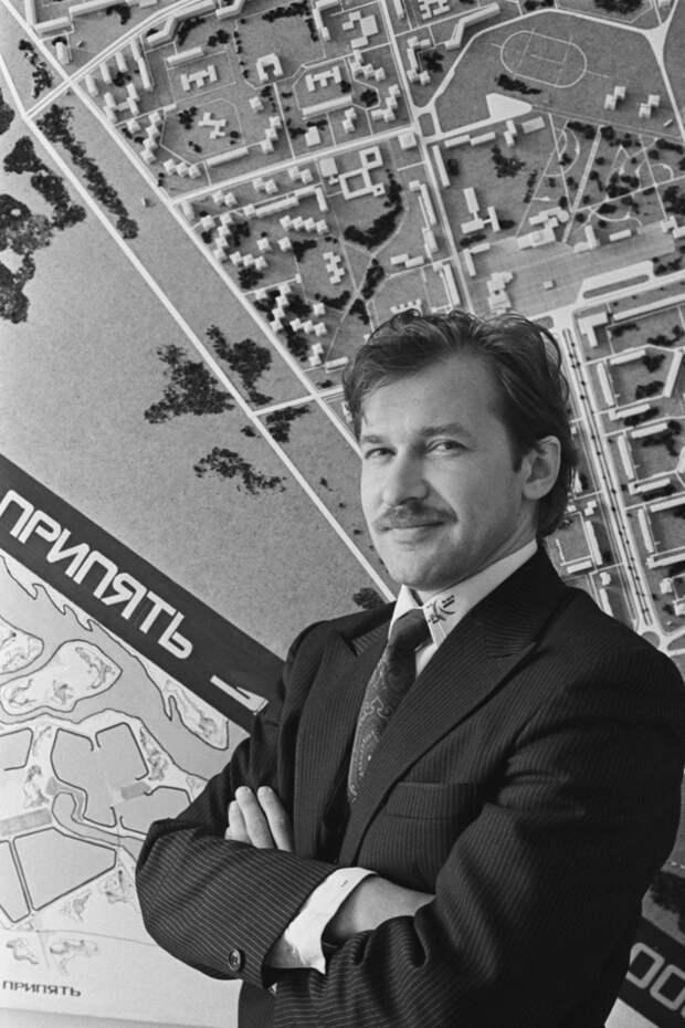 Главный архитектор города Припять, Четвертый Энергоблок, катастрофа, чернобль