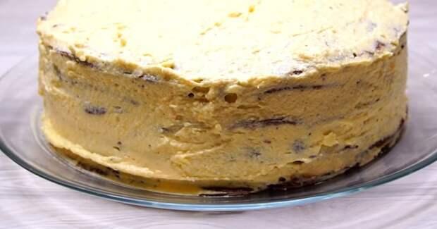 печеночный торт легкий рецепт