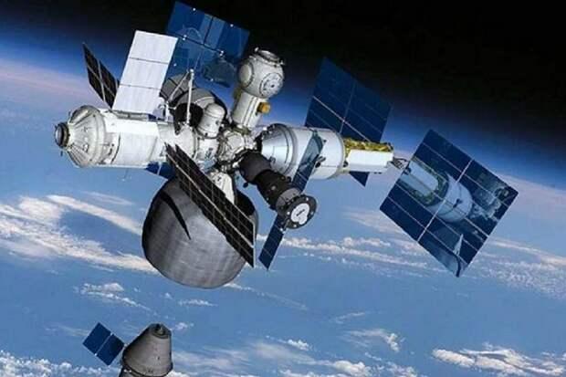 В «Роскосмосе» решено реализовывать новый проект взамен МКС