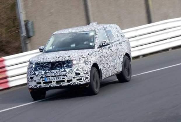 Видео: новый Range Rover испытывают на гоночном треке