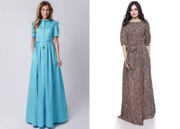 повседневные платья 2018 года модные тенденции