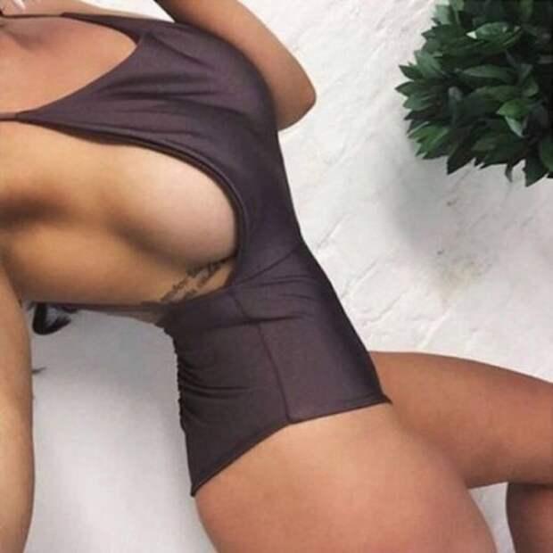 Горячие фото девушек в стиле sideboob
