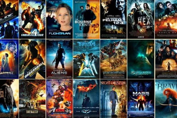 Все постеры к фильмам выглядят одинаково. Вот 13 доказательств