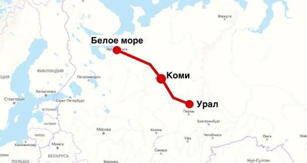 """Зачем России нужна дорога """"Белкомур"""" за 278 миллиардов рублей"""