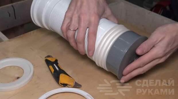 Устройство для быстрого надевания резиновых перчаток