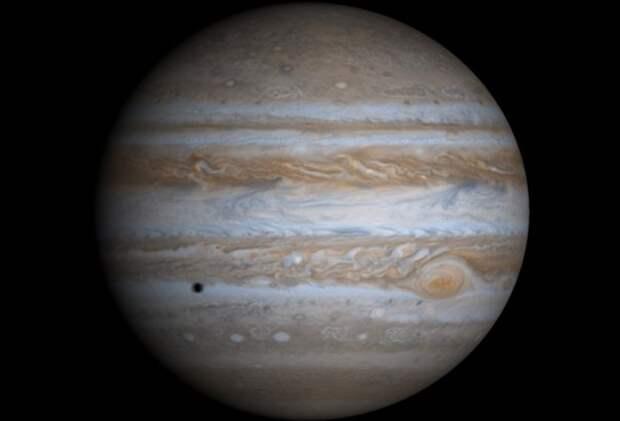Новые карты Юпитера показали его изменение